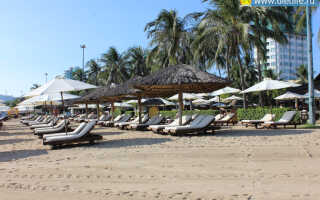 Нячанг бич — центральный пляж Нячанга.