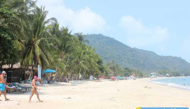 Пляж Ламай (Lamai Beach) на острове Самуи: море, песок, вода, инфраструктура, развлечения, что посмотреть, плюсы и минусы для зимовки, отзывы, фото и видео