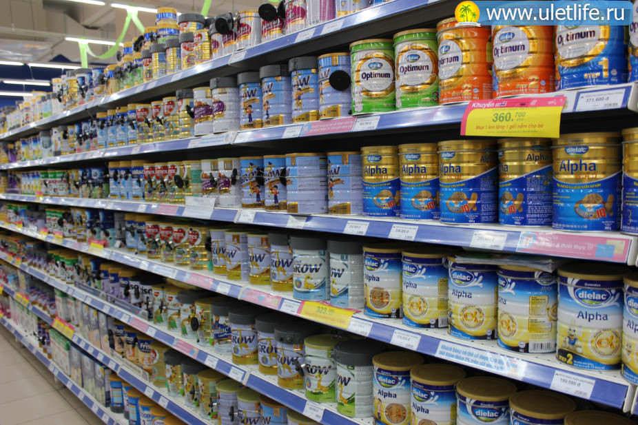 Цены в Нячанге детское питание
