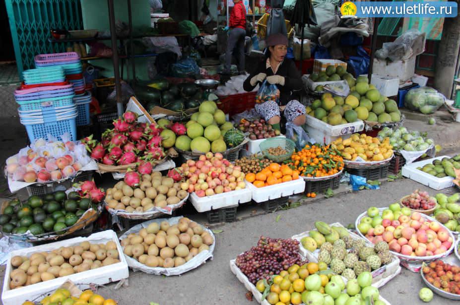 Цены в Нячанге на рынке