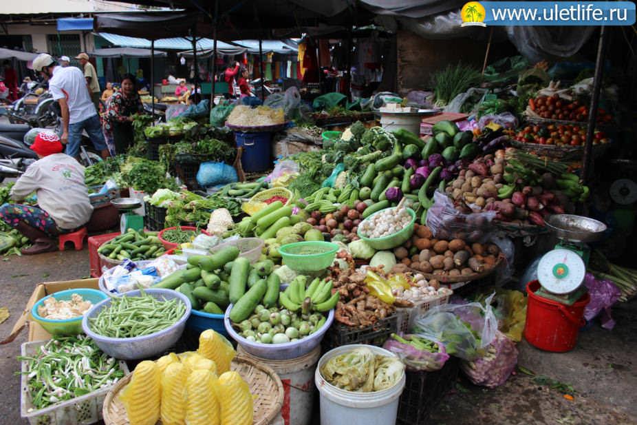 Цены в Нячанге овощи