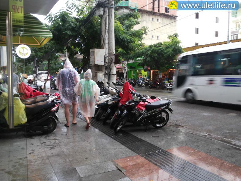 Погода в Нячанге сезон дождей