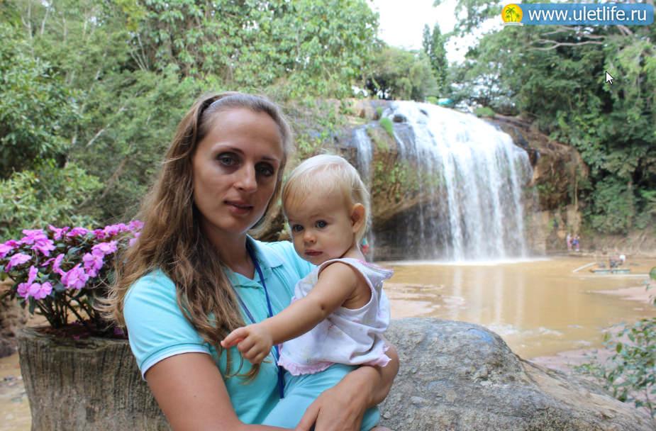 Экскурсия в Далат водопад Пренн