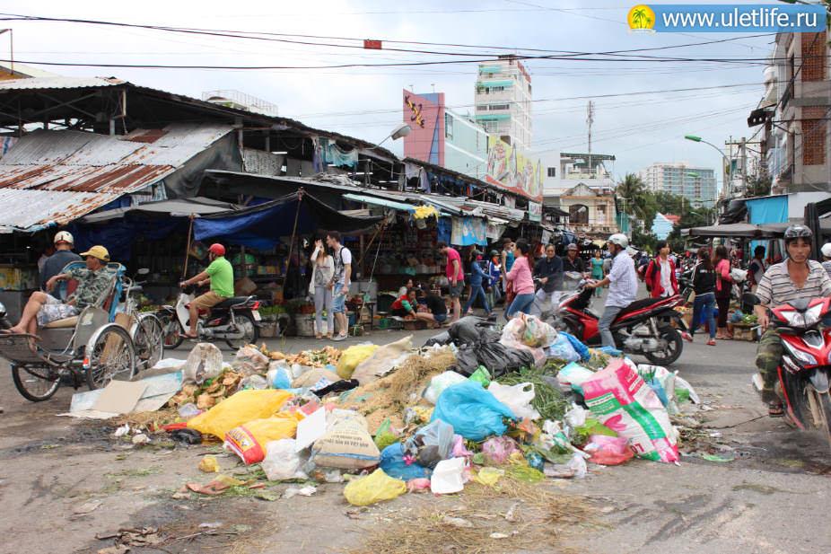 Рынок Xoi Moi в Нячанге