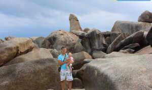 Камни Бабушка и Дедушка на Самуи