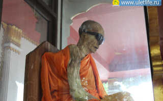Мумифицированный монах на Самуи