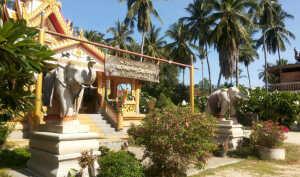 Храм Wat Kiri Wongkaram на Самуи.