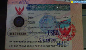 Как сделать визу Таиланда в Малайзии на Пинанге?
