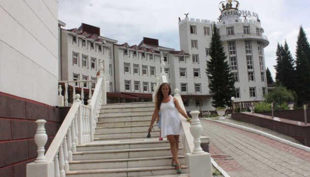Cанаторий «Корона Алтая» Горный Алтай прогулка с фото и видеоотзыв