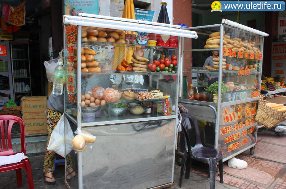 Цены в Нячанге хлеб