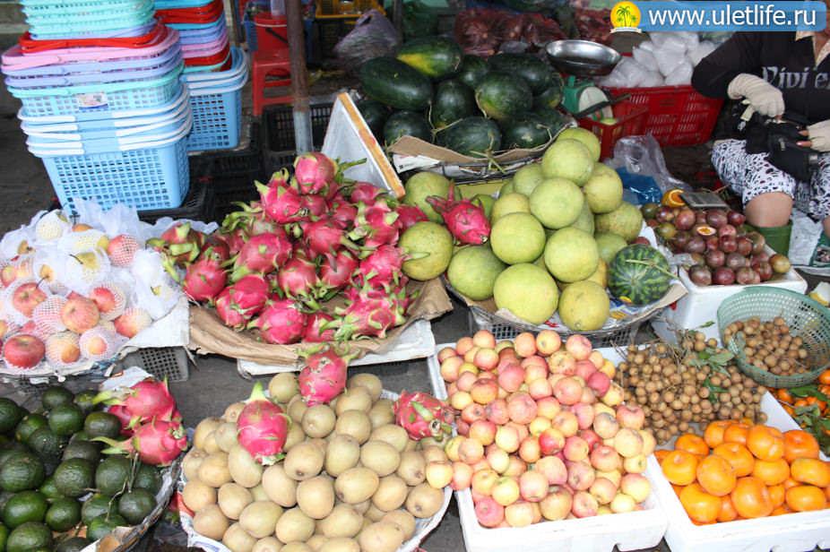 Цены в Нячанге фрукты
