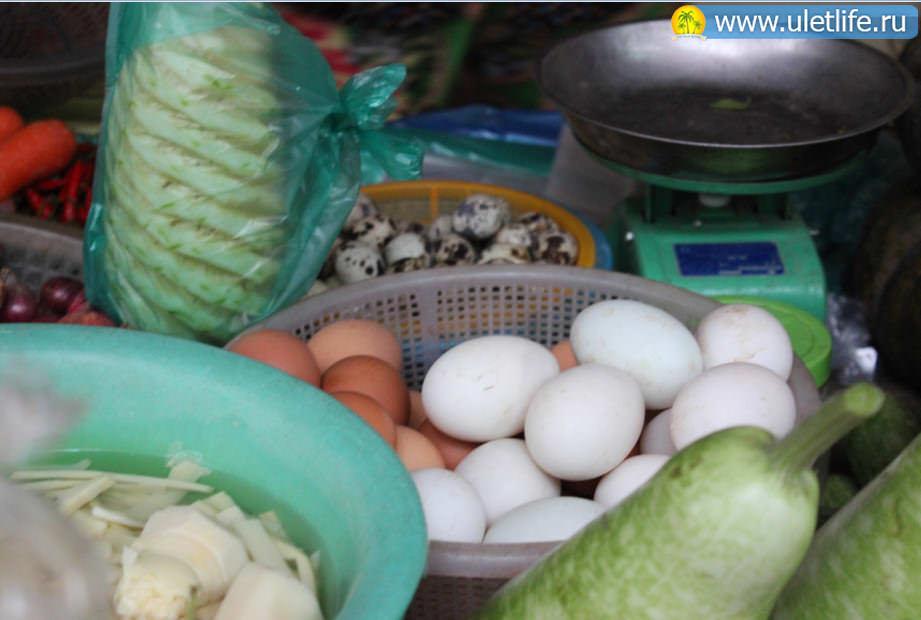 цены в нячанге яйца
