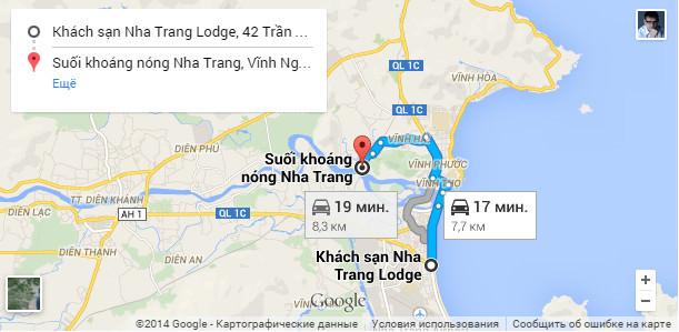i-resort Нячанг карта