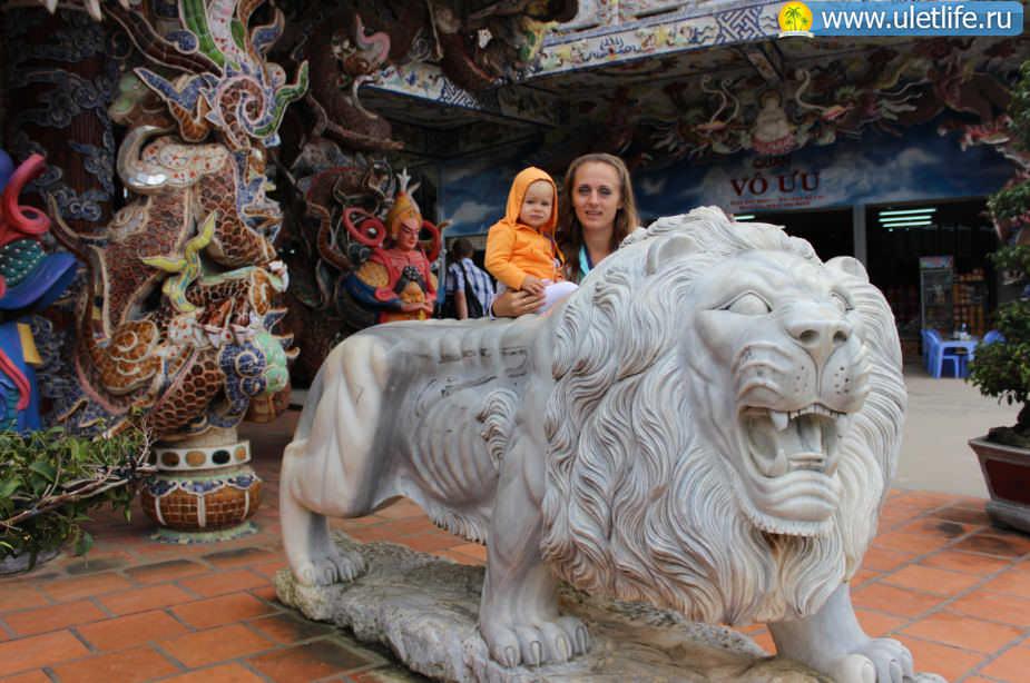 Экскурсия в Далат - храм