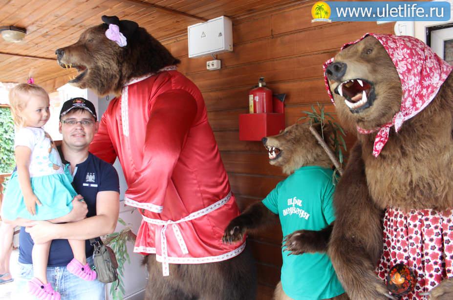 База отдыха Три медведя Горный Алтай