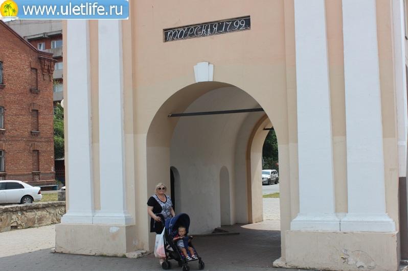 Омск Тарские ворота
